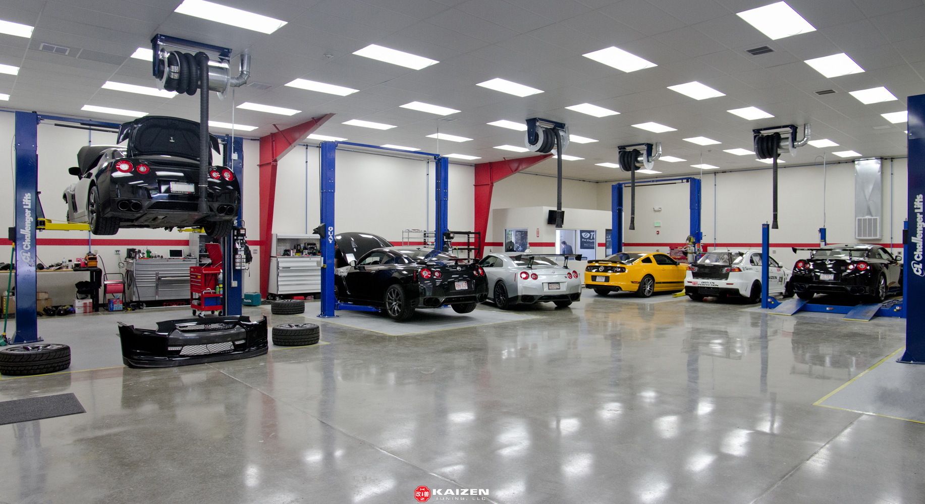 10,000 sq. ft. state of the art facility - Kaizen Tuning